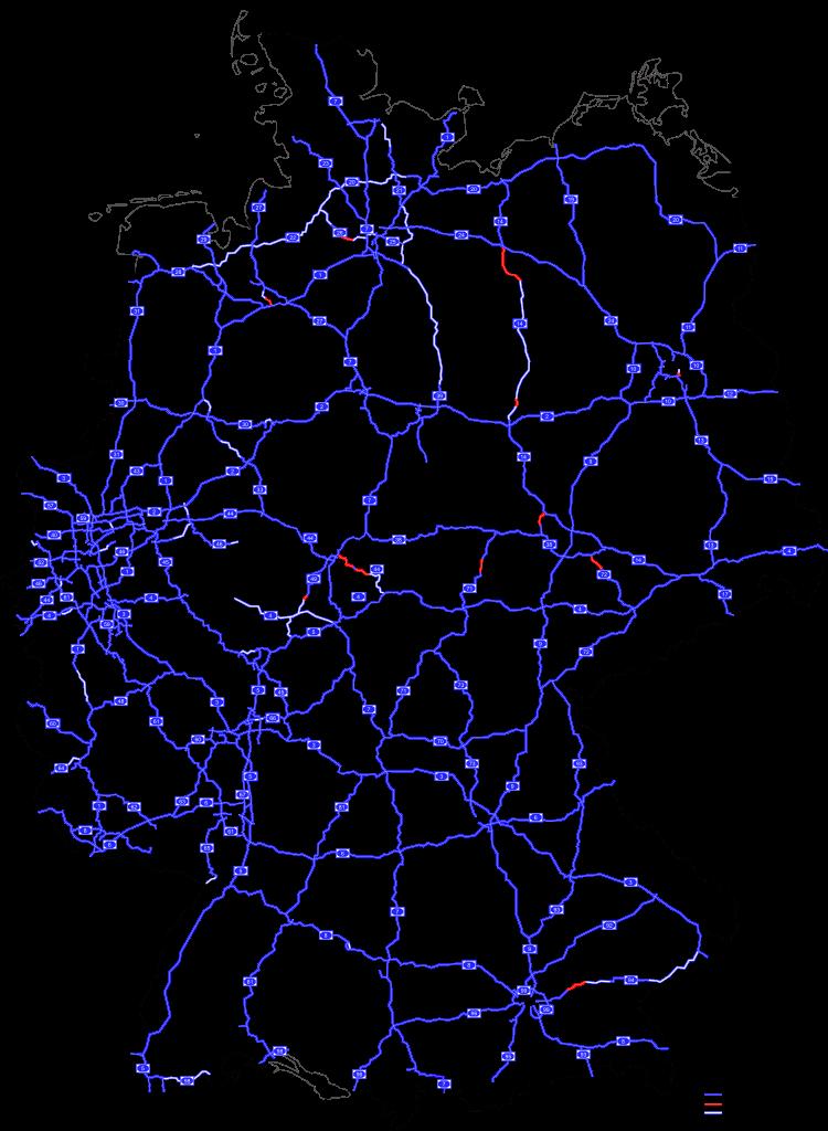 német autópályák